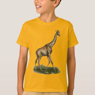 Giraffe Tee for Young Giraffe Lovers
