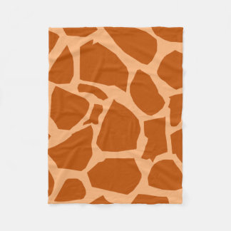 Giraffe Texture Fleece Blanket