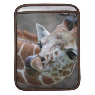 Giraffe Tongue iPad Sleeve