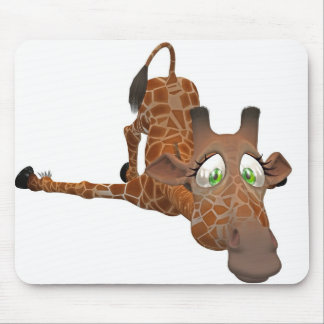giraffe toon mousepads