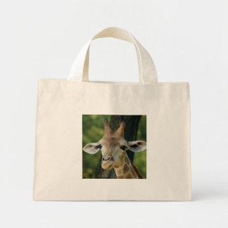 Giraffe Mini Tote Bag