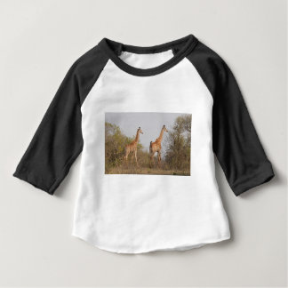 Giraffe Twins Africa Personalize Destiny Destiny'S Baby T-Shirt