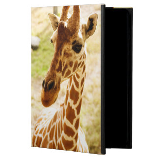 Giraffe Up Close iPad Air Cover