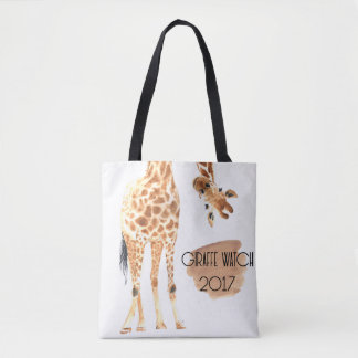 Giraffe Watch 2017 - Looking at You Tote