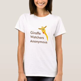 Giraffe  Watchers  Anonymous T-Shirt