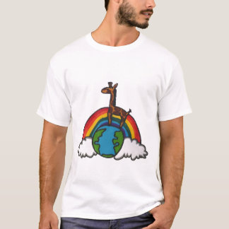 giraffe world T-Shirt