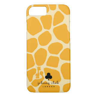 Giraffe (Yellow) iPhone 8/7 Case