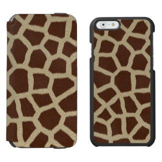 Giraffe Incipio Watson™ iPhone 6 Wallet Case