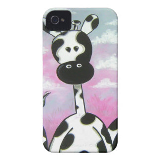 Giraffees Two Zazzle iPhone 4 Case-Mate Case