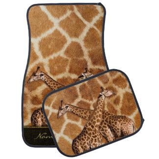 Giraffes 1A Options Floor Mats