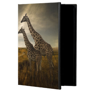 Giraffes and The Landscape Cover For iPad Air