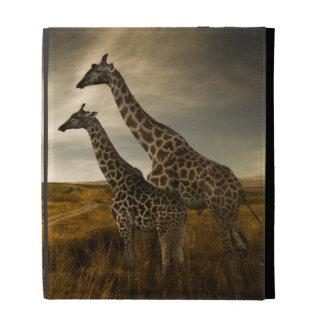 Giraffes and The Landscape iPad Folio Covers