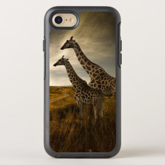 Giraffes and The Landscape OtterBox Symmetry iPhone 7 Case