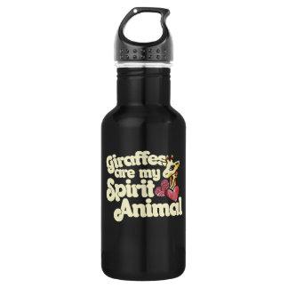 Giraffes are my spirit Animal 532 Ml Water Bottle