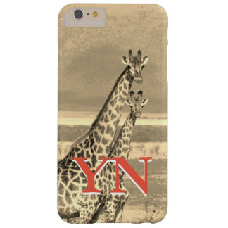 Giraffes Barely There iPhone 6 Plus Case