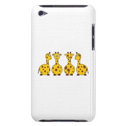 Giraffes cartoons iPod Case-Mate case
