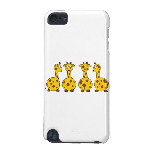 Giraffes cartoons iPod touch 5G cover