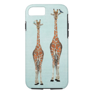 GIRAFFES & FEATHERS iPhone 7 CASE