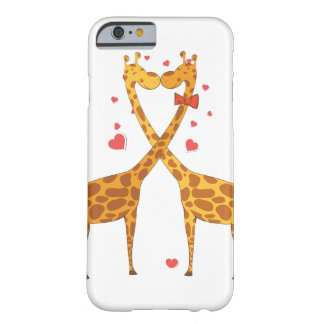 Giraffes in Love Barely There iPhone 6 Case