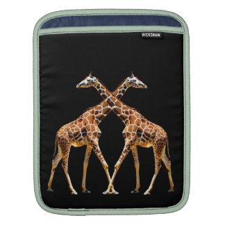 GIRAFFES IN PASSING SLEEVES FOR iPads