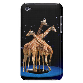 GIRAFFES IN SPACE iPod TOUCH COVER