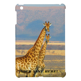 Giraffes iPad Mini Covers