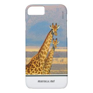 Giraffes iPhone 7 Case