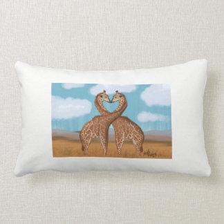 Giraffes Love Cushions