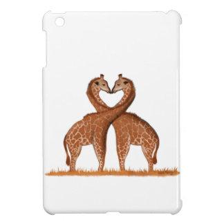 Giraffes Love iPad Mini Case