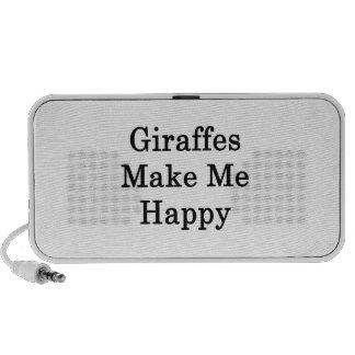 Giraffes Make Me Happy Speaker