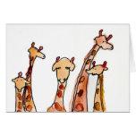Giraffes • Max Hutcheson, Age 11 Note Card