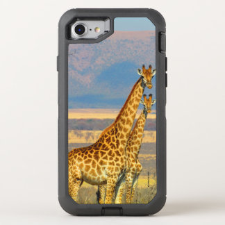 Giraffes OtterBox Defender iPhone 8/7 Case