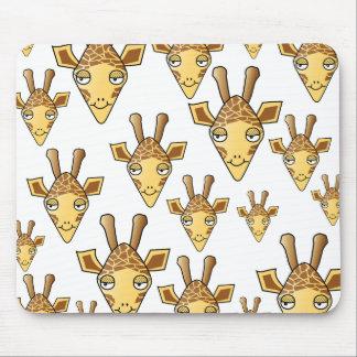 Giraffes Pattern. Mousepads
