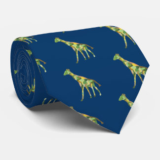 Giraffes Tie
