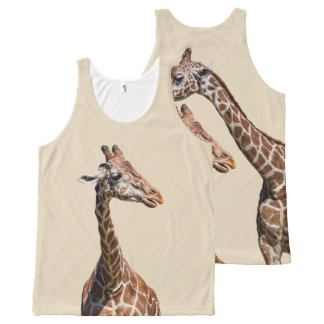 GIRAFFS  TO GO All-Over PRINT SINGLET
