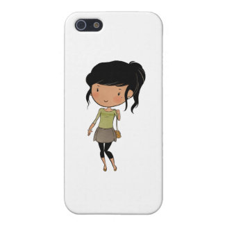girl2.png iPhone 5/5S cases