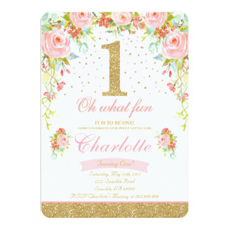 St Birthday Invitations Announcements Zazzlecomau - Free birthday invitation templates pink and gold