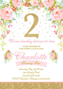 2nd birthday invitations zazzle com au