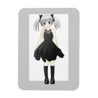 girl-309514  CUTE ANIME GOTH GOTHIC EMO STYLISH FA Magnets