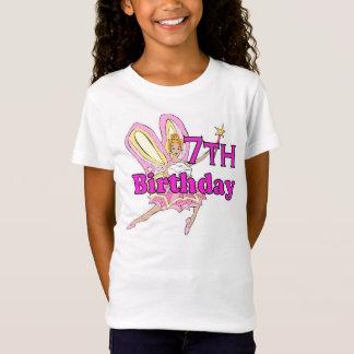 Girl 7th birthday fairy princess T-Shirt
