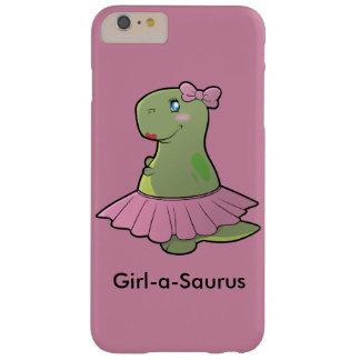 Girl-a-Saurus Dinosaur T-Rex Phone Cover