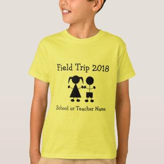 Girl and Boy Figure Field Trip T-shirt