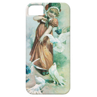 GIRL AND DOVES iPhone 5 COVER