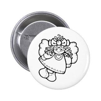 Girl Angel Pins