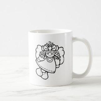 Girl Angel Mugs