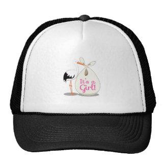 Girl Announcement Hat
