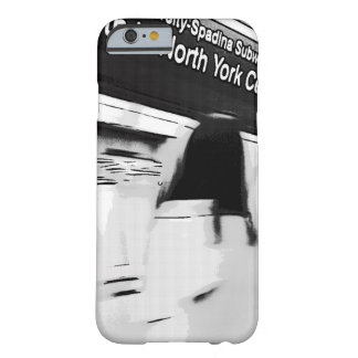 Girl at the subway station barely there iPhone 6 case
