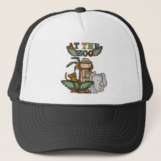 Girl At the Zoo Tshirts and Gifts Trucker Hat