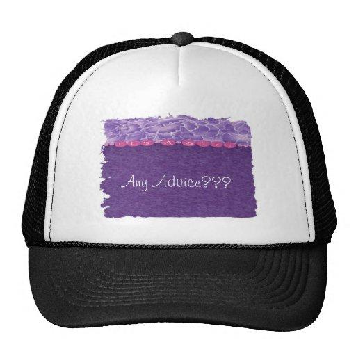 Girl-baby shower mesh hats
