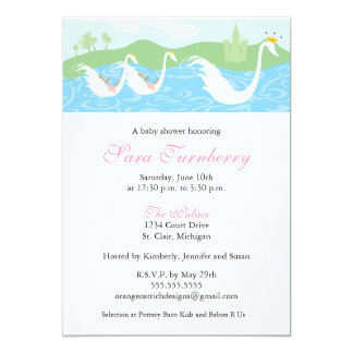 Girl Baby Shower Invitation - Little Princess